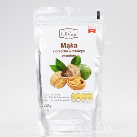 Walnut Flour / Walnut Meal - Premium, Ol'Vita 250g