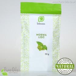 Morwa Biała - liść krojony, Intenson - 50 g