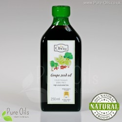 Grape Seed Oil, cold-pressed and crude, Ol'Vita 250 ml