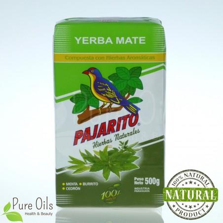Yerba Mate Pajarito with herbs 500g