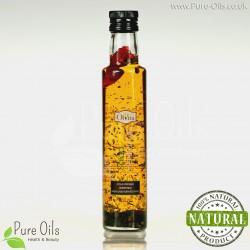 Olej ziołowy - sałatkowy, zimnotłoczony, nieoczyszczony Ol'Vita