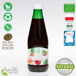 Multi Vegetable Juice - Lactic Acid Fermented, Organic, BioFood