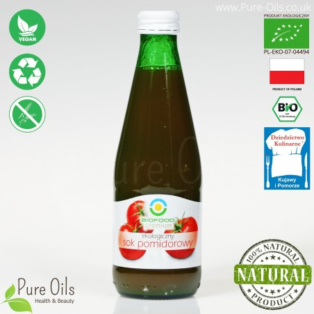 Tomato Juice - Pressed, NFC, Organic, BioFood