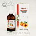 Apricot Kernel Oil, Cosmetic, Cold-Pressed, Ol'Vita 50 ml