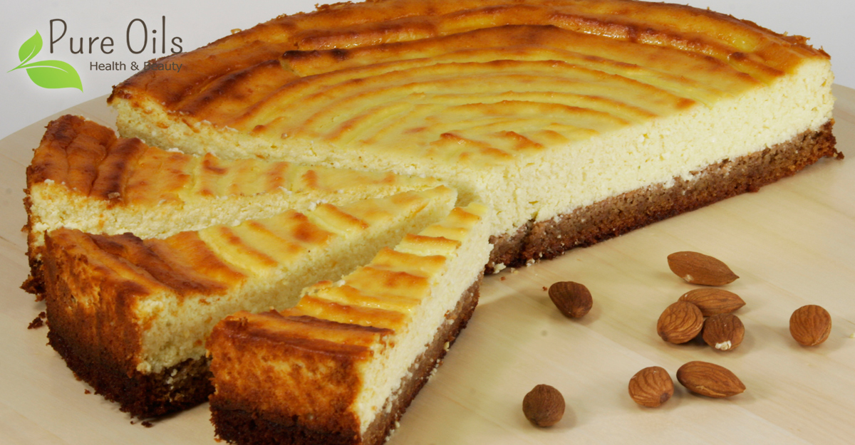 Cheesecake gluten free - Pure Oils