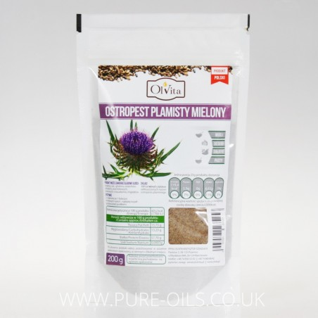 Milk Thistle Seeds Powder/Ground Milk Thistle Seeds Ol'Vita 200g