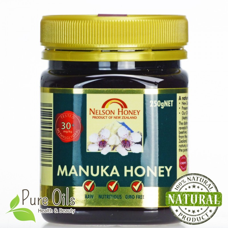 Miód Manuka, Nelson Honey 30+ 250g i 500g