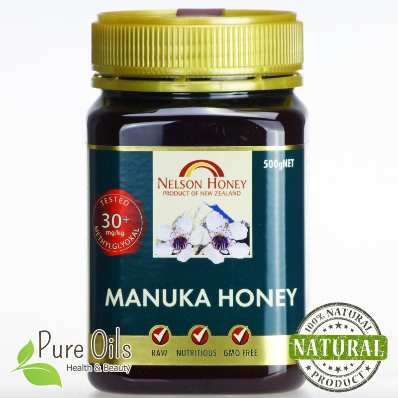Nelson Honey Active Manuka Bronze Honey Methylglyoxal 30+ 250g and 500g