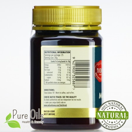Miód Manuka, Nelson Honey 100+ 250g i 500g