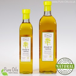 Rapeseed / Canola oil, cold-pressed and crude Ol'Vita 500 and 1000 ml