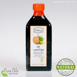 Pumpkin Seed Oil - Cold Pressed, Unrefined - Ol'Vita
