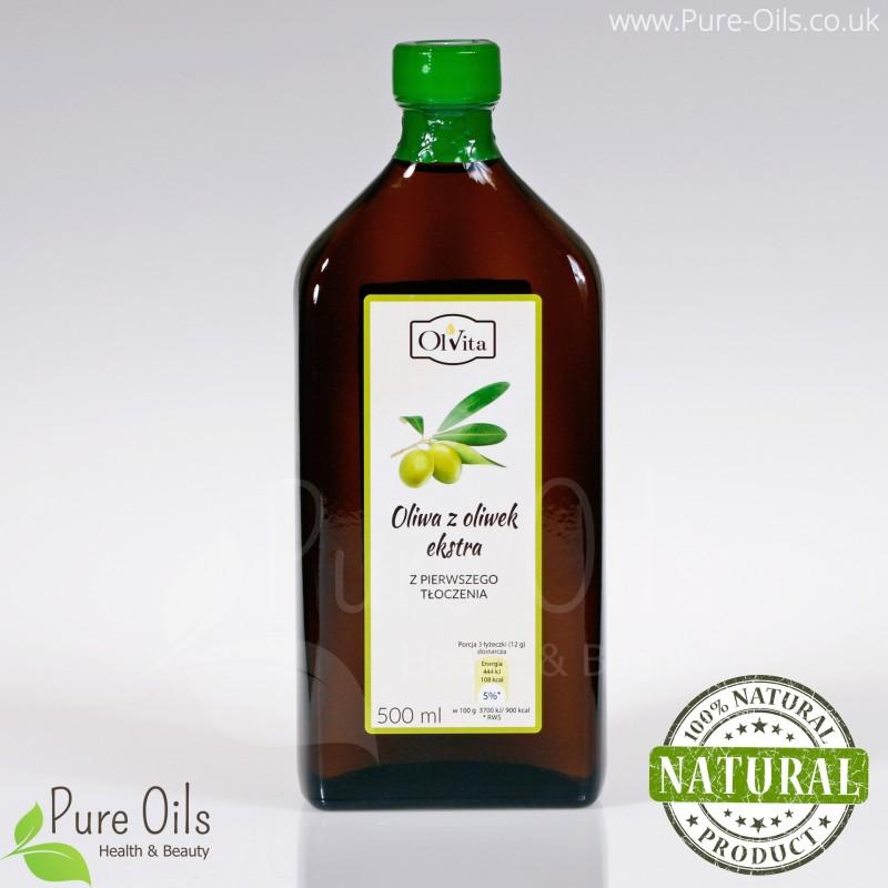 Olive Oil cold-pressed, extra virgin, Olvita 500ml