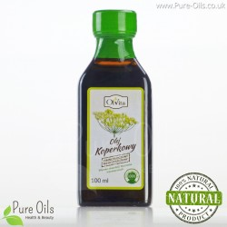 Dill Oil - Cold Pressed, Unrefined, Ol'Vita 100ml