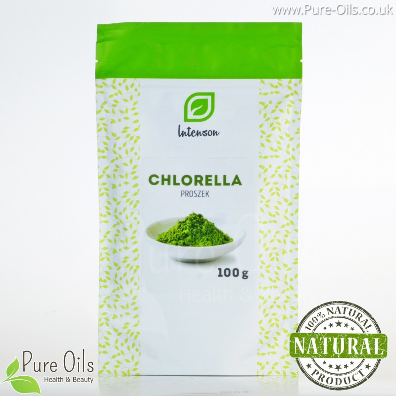 Chlorella Powder, Intenson - 100 g