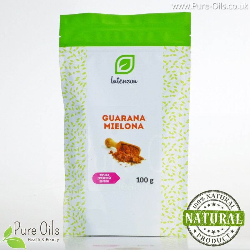 Guarana Powder, Intenson - 100 and 200 g