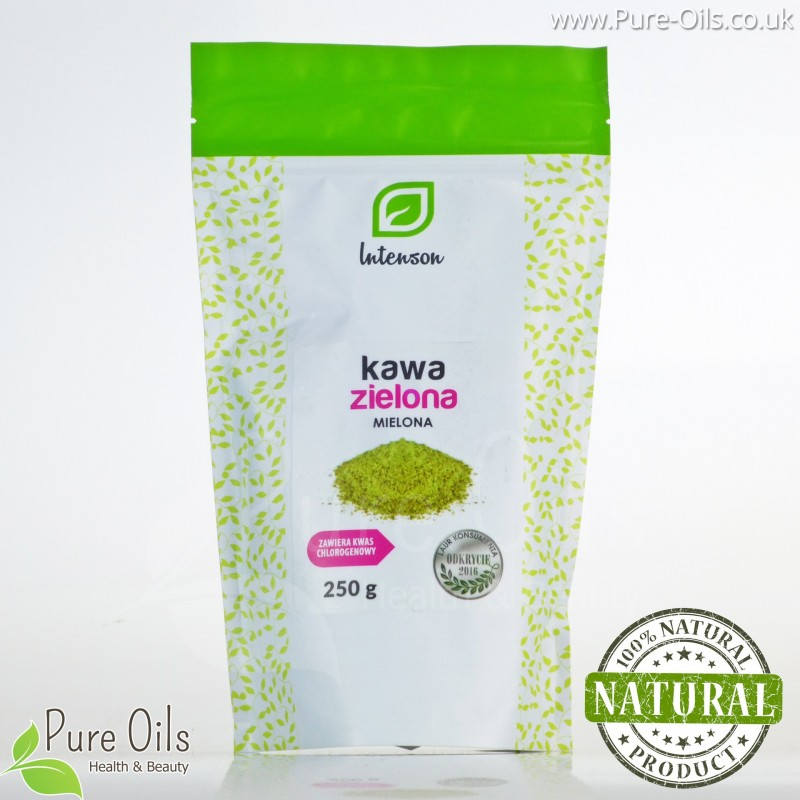 Zielona Kawa Mielona, Intenson 250 g i 1 kg