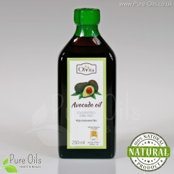 Avocado oil, cold-pressed and crude Ol'Vita 250ml