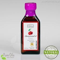 Olej z Pestek Wiśni - zimnotłoczony, nierafinowany Ol'Vita 100 ml