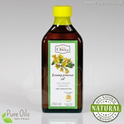 Evening Primrose Oil - cold pressed, unrefined Ol'Vita 250 ml