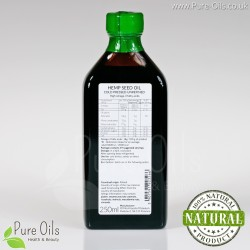 Hemp seed, cannabis oil, cold-pressed and crude Ol'Vita 250 ml