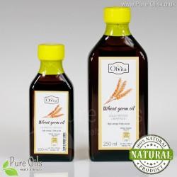 Olej z Kiełków Pszenicy, zimnotłoczony, nieoczyszczony, Ol'Vita 100 i 250 ml