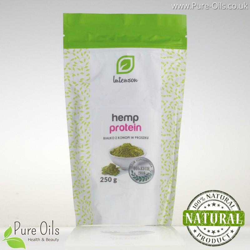 Hemp protein, powder, Intenson 250g