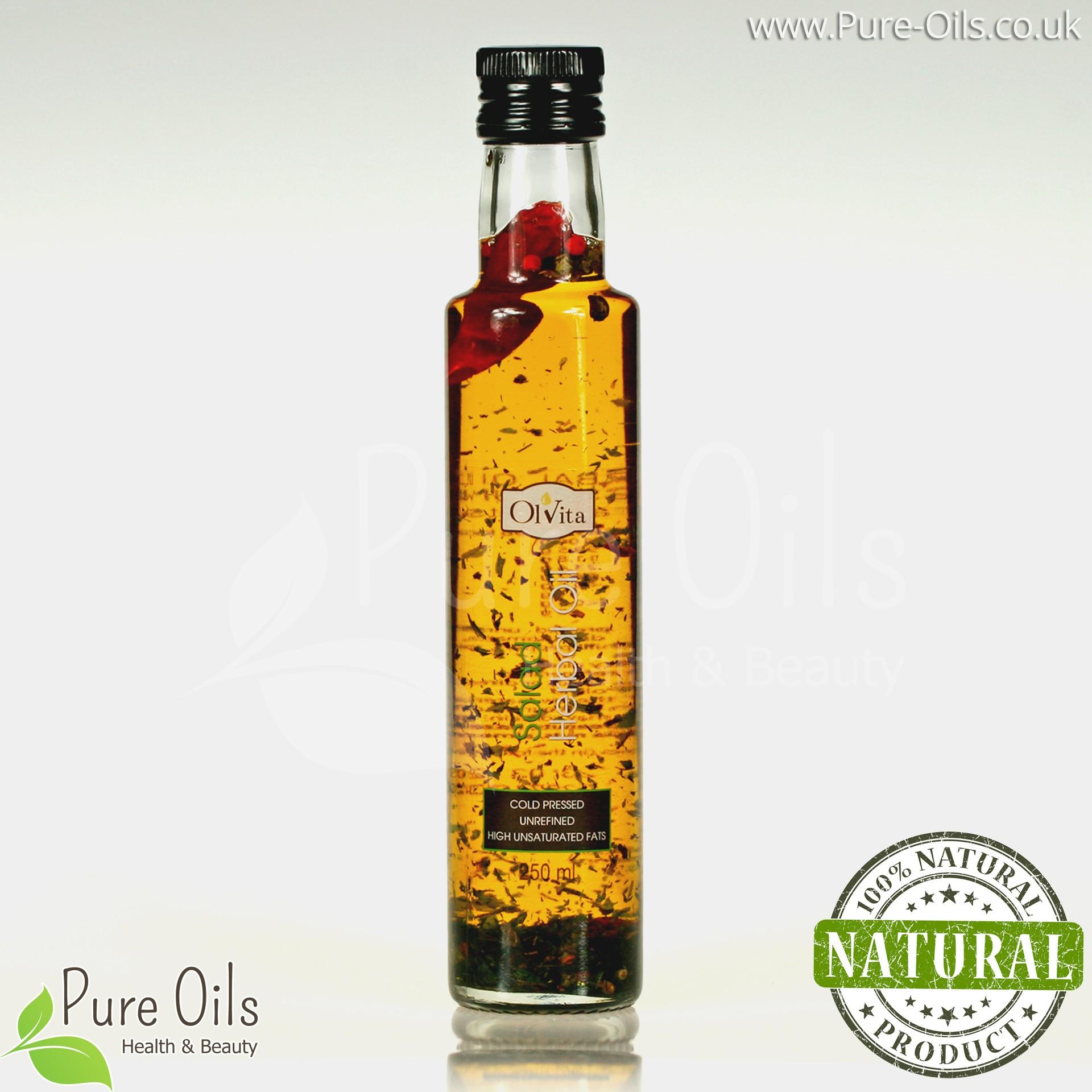 Salad Herbal oil, cold-pressed and crude Ol'Vita