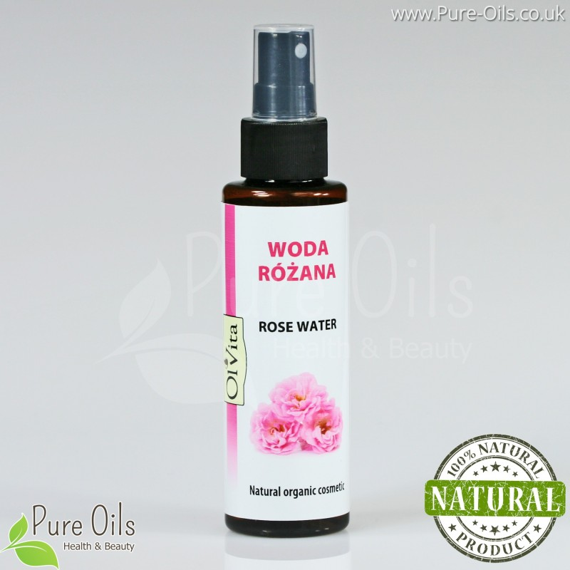 Rose Water - Natural organic cosmetic, Ol'Vita 100 ml