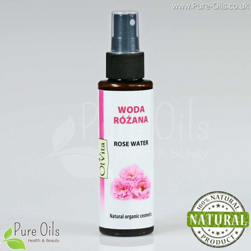 Woda Różana - Naturalny kosmetyk organiczny, Ol'Vita 100 ml