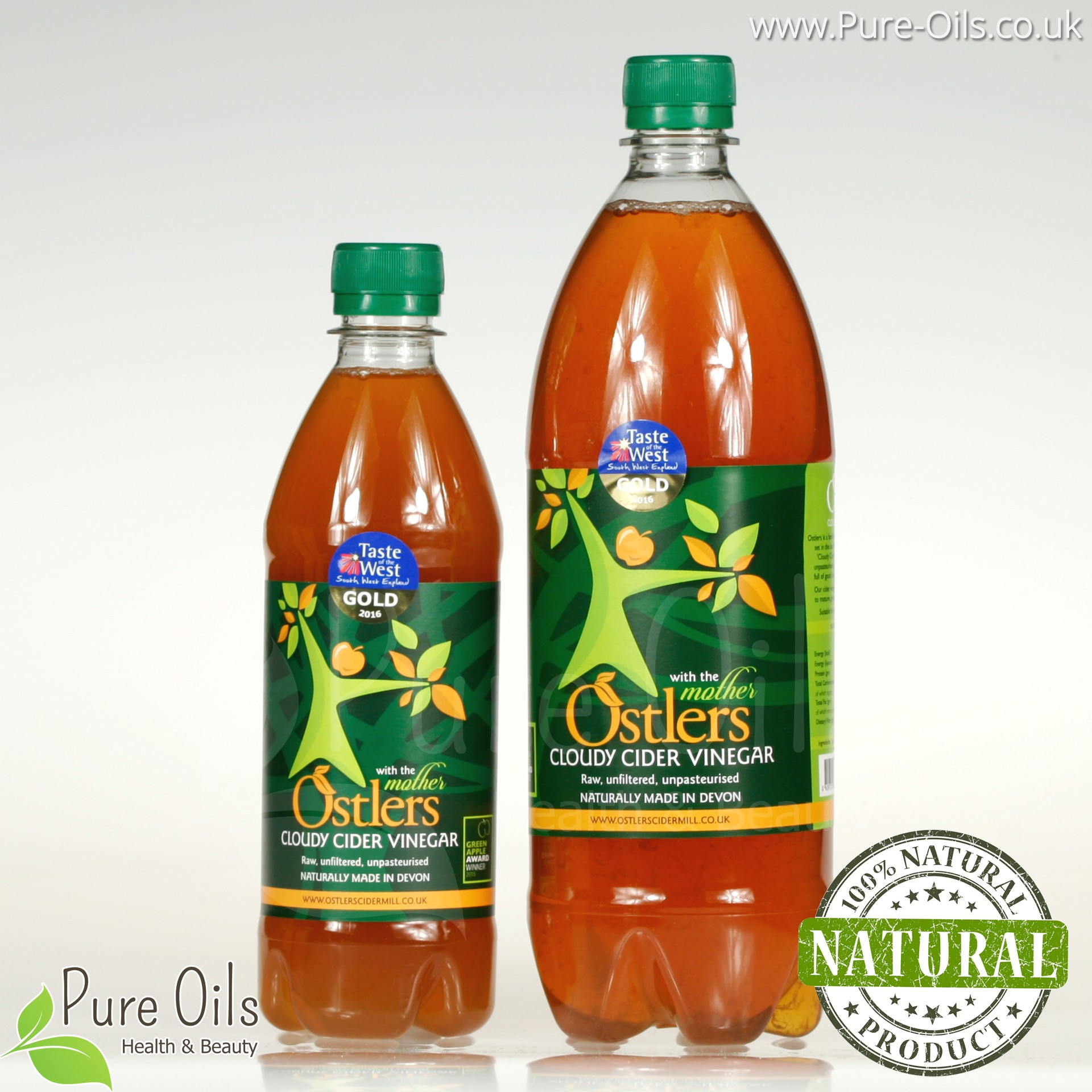Ostlers Cloudy Cider Vinegar With The Mother