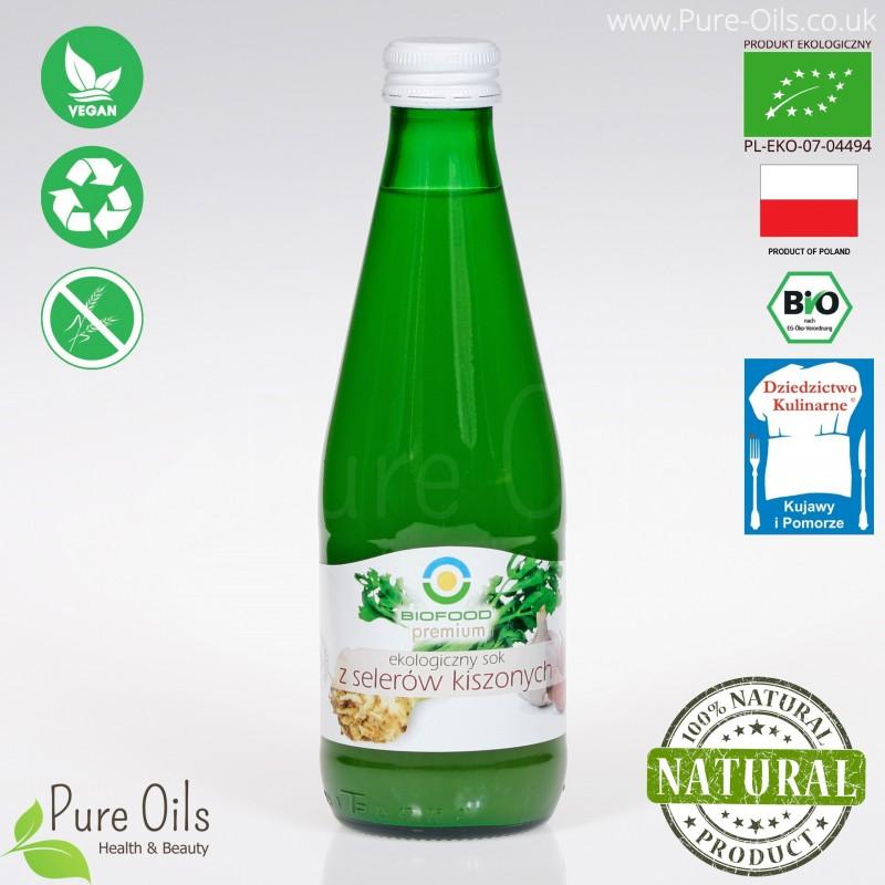 Celery Juice – Lactic Acid Fermented, Organic, BioFood