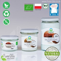 Coconut oil, cold-pressed, VIRGIN, BioFood