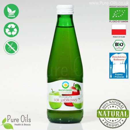 Apple Juice - Pressed, NFC, Organic, BioFood