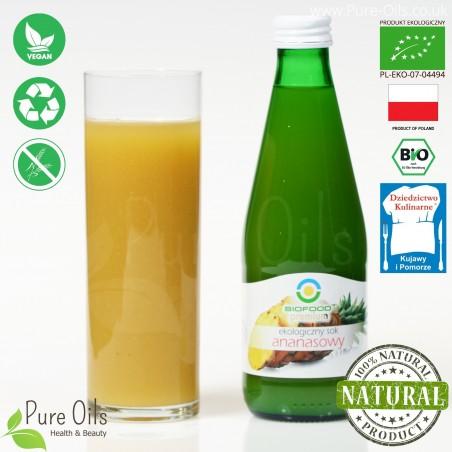Pineapple Juice - Pressed, NFC, Organic, BioFood