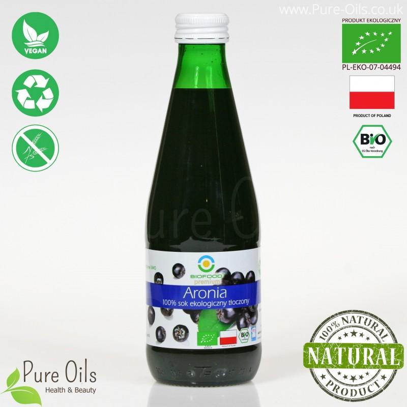 Chokeberry Juice - Pressed, NFC, Organic, BioFood