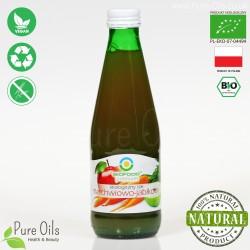 Sok Marchwiowo-Jabłkowy, ekologiczny, tłoczony, NFC, BioFood