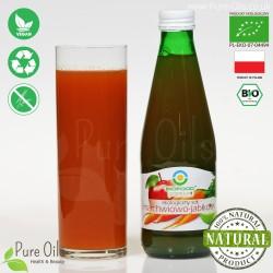 Carrot-Apple Juice - Pressed, NFC, Organic, BioFood