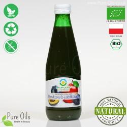 Sok Śliwkowo-Jabłkowy, ekologiczny, tłoczony, NFC, BioFood