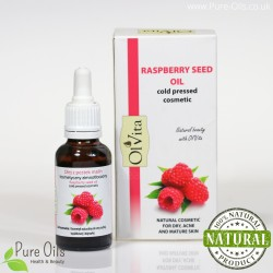 Rasberry seed oil, cosmetic, cold-pressed, Ol`Vita - 30 ml