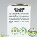 Coriander seed oil, cold-pressed and crude Ol'Vita
