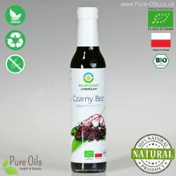 Syrop z Czarnego Bzu - Ekologiczny, Biofood