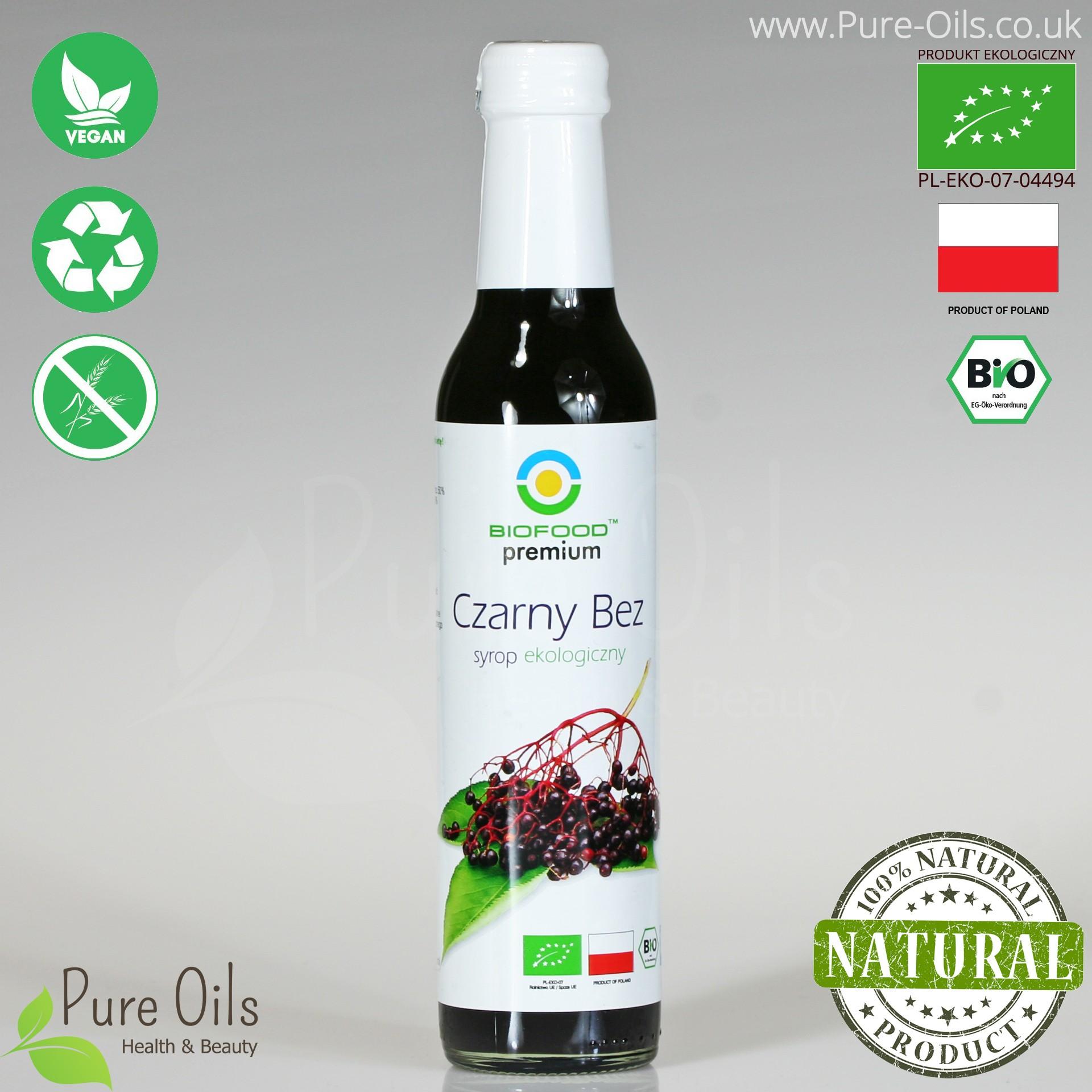 Elderberry Syrup - Organic, Biofood