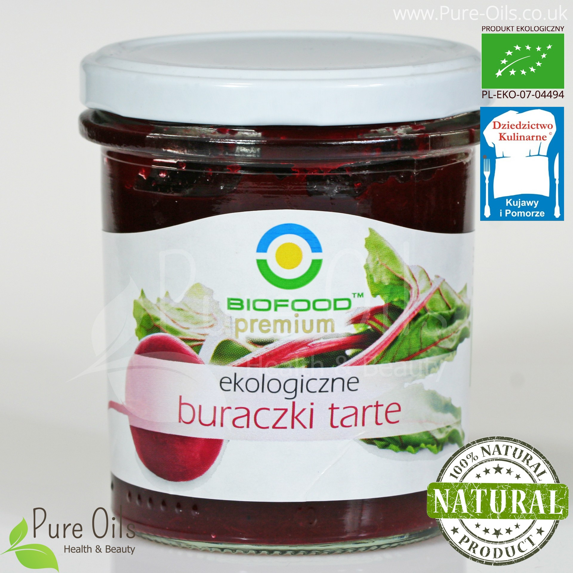 Buraczki Tarte - Ekologiczne, Biofood