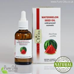 Watermelon Seed Oil, Cosmetic, Cold-Pressed, Ol'Vita