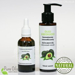 Avocado Oil, Cosmetic, Cold-Pressed, Ol'Vita 50 ml