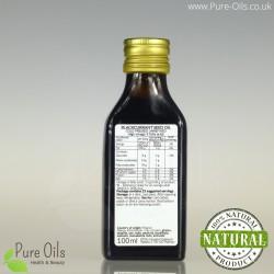 Olej z pestek czarnej porzeczki, zimnotłoczony nieoczyszczony Ol'Vita