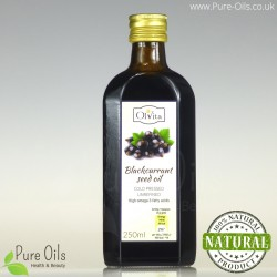 Blackcurrant seed oil, cold-pressed and crude Ol'Vita