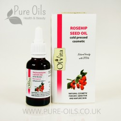 Rosehip seed oil, Cold-Pressed, Cosmetic, Ol`Vita 30ml