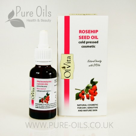 Rosehip seed oil, Cosmetic, Cold-Pressed, Ol`Vita 30ml