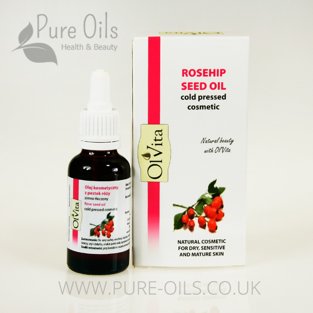 Rosehip seed oil, Cold-Pressed, Cosmetic, Ol`Vita 30ml